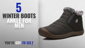 Top 10 Winter <b>Boots</b> Ankle [ Winter 2018 ]: DADAWEN Men <b>Women</b> ...