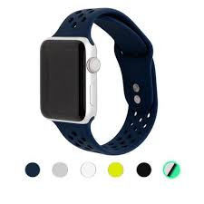 <b>Sport Silicone Bands for</b> Apple Watch - Epic Watch Bands