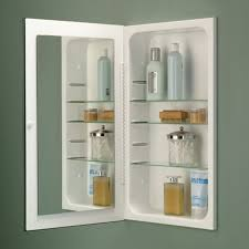 broannutone pwhg cove singledoor recessed medicine cabinet