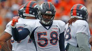 Von Miller receives '<b>Chinese Dragon</b>' nickname at Broncos camp