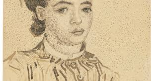 Van Gogh's <b>Japanese girl</b> could fetch record $10m at auction | The ...