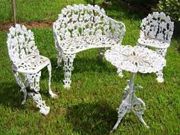 wrought iron outdoor furniture image of iron outdoor furniture paint