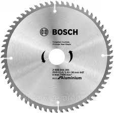 <b>Диск пильный Bosch</b> Eco for Aluminium <b>210х30мм</b> Z64, алюминий ...