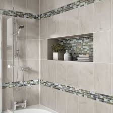 bathroom tile tiles bathrooms details photo features castle rock  x  wall tile with glass horizons a