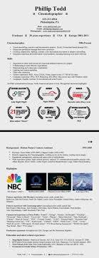 resume phillip todd com p todd cinematographer resume 2