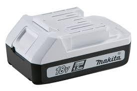 <b>Аккумулятор Makita</b> BL1815G 198186-3 (<b>18V</b>, 1,<b>5Ач</b>, Li-Ion ...