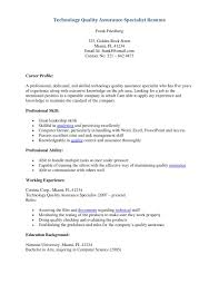 sample resume for quality control chemist programs sample resume for quality control chemist