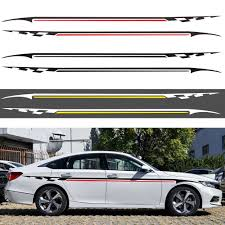 <b>1pcs</b> Color Poker A Graphics Car Reflective Car Body Racing Side ...