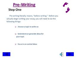 the writing process steps in writing an essay pre writing planning  introduction what is the writing process  writing an essay takes time thats why writing
