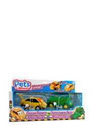 <b>Набор Pets on Wheels</b> 2 фигурки(Лев Роджер+Трицератопс ...