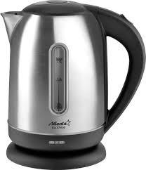 <b>Чайник</b> электрический <b>Atlanta ATH</b>-2436, черный — купить в ...