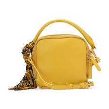 <b>Сумка</b>-репортер с платком желтый <b>La Redoute</b> Collections | La ...