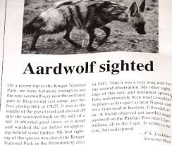 Image result for Aardwolves are found in southern Africa and parts of East Africa.