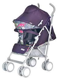 <b>Коляска</b> прогулочная <b>Everflo Dino</b> purple Е-109 бордовый