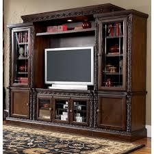 furniture t north shore: millennium north shore traditional entertainment wall unit