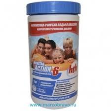 Двухкомпонентные хлорсодержащие <b>таблетки HTH</b> Maxitab ...