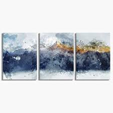 Abstract Canvas Wall Art for Living Room Modern ... - Amazon.com