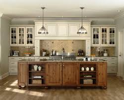 contemporary kitchen rustic cabinets
