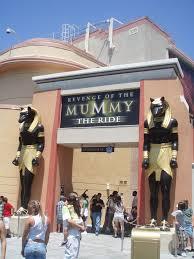 Image result for universal studios revenge of the mummy
