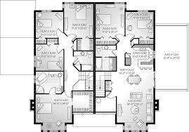 Multi Family House Plan First Floor D   House Plans And        Southern House Plan Second Floor D   House Plans And More Family House Plans Simple