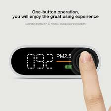 Xiaomi <b>Smartmi Pm2</b>.<b>5</b> Air Detector Portable Mini Sensitive Mijia Air ...