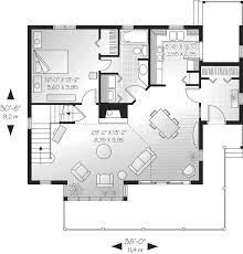 Pamela Point Modern Lake Home Plan D    House Plans and MoreContemporary House Plan First Floor   D    House Plans and More