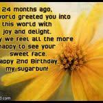 2nd Birthday Quotes For Son | Best Quotes 2015 via Relatably.com