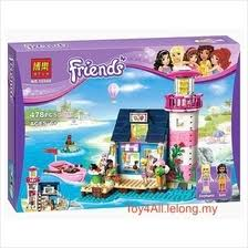 <b>2017 bela</b> friends heartlake light house 41094 lego <b>compatible</b> brick
