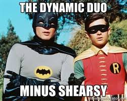 The Dynamic Duo Minus Shearsy - Batman meme | Meme Generator via Relatably.com