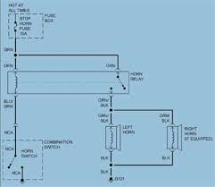 solved where can i a wiring diagram for a horn on a fixya where can i a wiring diagram for a horn on a 25473581