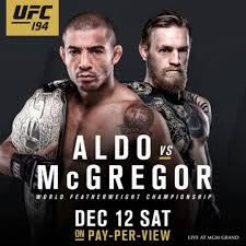 Assistir UFC 194: Jose Aldo vs. Conor McGregor – Dublado – Online 13/12/2015