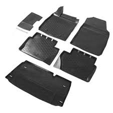 <b>Комплект ковриков салона и</b> багажника Rival для Ford EcoSport I ...