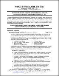 example technical resume for it manager it manager resume example