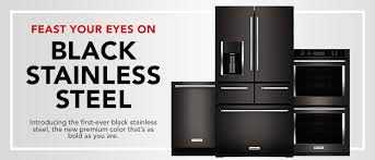 black and stainless kitchen black stainless steel kitchen suite plp masthead bss black stainless steel kitchen suite
