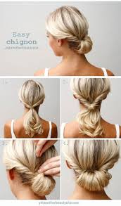 best ideas about professional updo easy easy chignon tutorial 13 easy tutorials to look polished and professional at work gleamitup