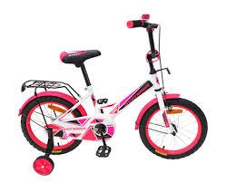 Детский <b>велосипед AVENGER NEW</b> STAR 16, белый/розовый ...