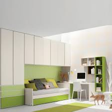 white lime green italian kids room interior design childrens bedroom furniture small spaces