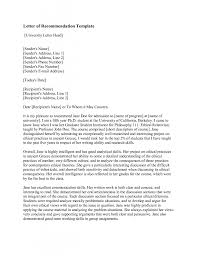letter of recommendation template as pdf reference letter letter of recommendation template as pdf reference letter business letter sample photo example letter of recommendation