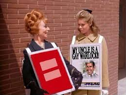 The best marriage equality meme ever, courtesy of Bewitched meets ... via Relatably.com