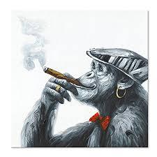 <b>Top</b> Artist Pure <b>Hand painted High Quality</b> Modern Art Smoking ...