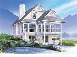 Traditional House Plans Coastal House Plans Narrow Lots  coastal    Traditional House Plans Coastal House Plans Narrow Lots