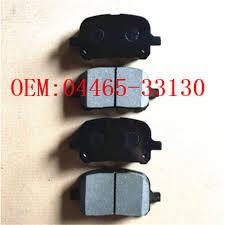 <b>Комплект передних тормозных колодок</b> OEM: 04465 33130 ...