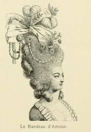 hairstyles of the 18th century hairstyles get french costume 1885 pictures getty images moreover in addition hair flowers pearls feathers ship bun roses
