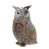 «<b>Фигурка декоративная Сова</b>, <b>размер</b>: 13х11х8см, керамика ...