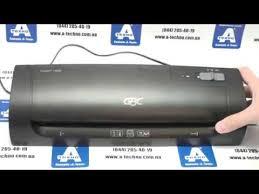 <b>Ламинатор GBC Fusion</b> 1000L A4 - YouTube