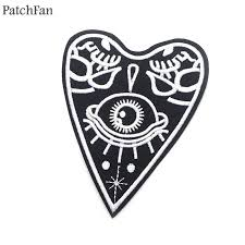 <b>Patchfan</b> Ouija Board applique patches diy iron on para shoe jeans ...