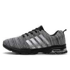 Men's Shoes <b>Unisex Breathable Trainers</b> Reflective Laces Up ...
