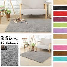 Luxury Home Living Room Bedroom Soft Plush Carpet Anti-Skid ...