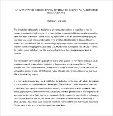teaching annotated bibliography templates free sample example