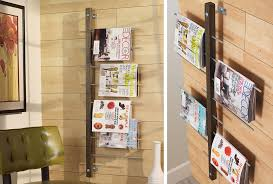 magazine rack wall mount: wall mounted magazine rack cover image wall mounted magazine rack
